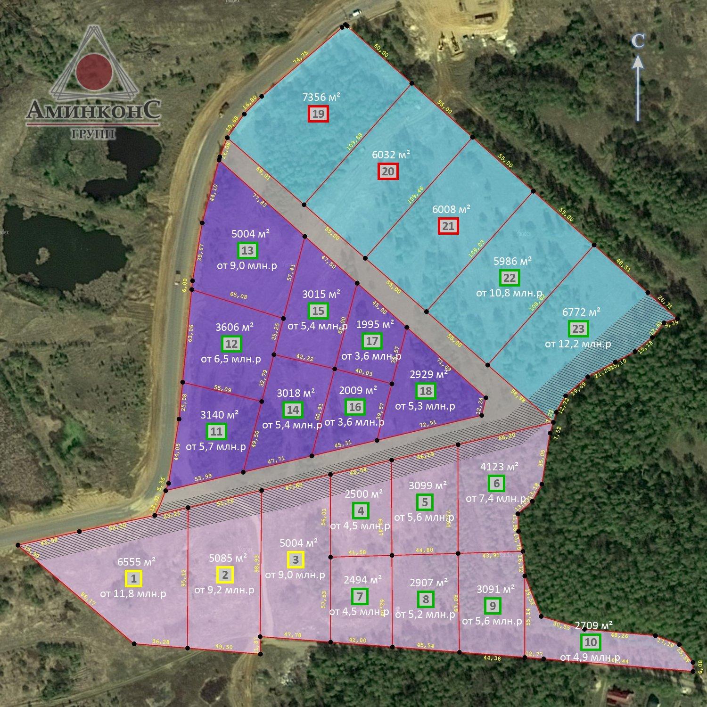 Земельные участки под строительство коммерческой недвижимости