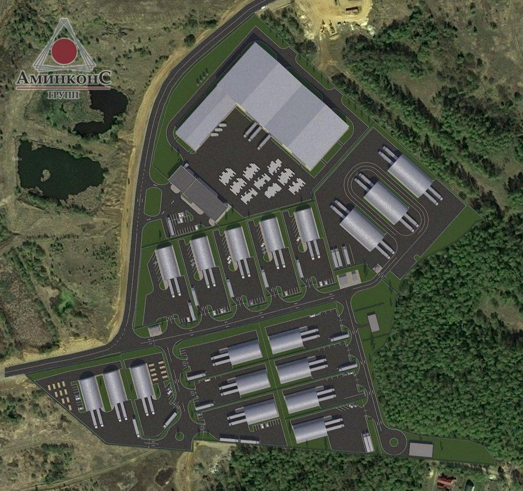 План индустриального комплекса для малого и среднего бизнеса