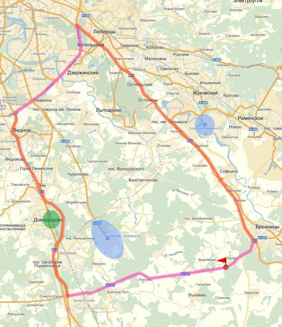 Земля коммерческого назначения в Московской области